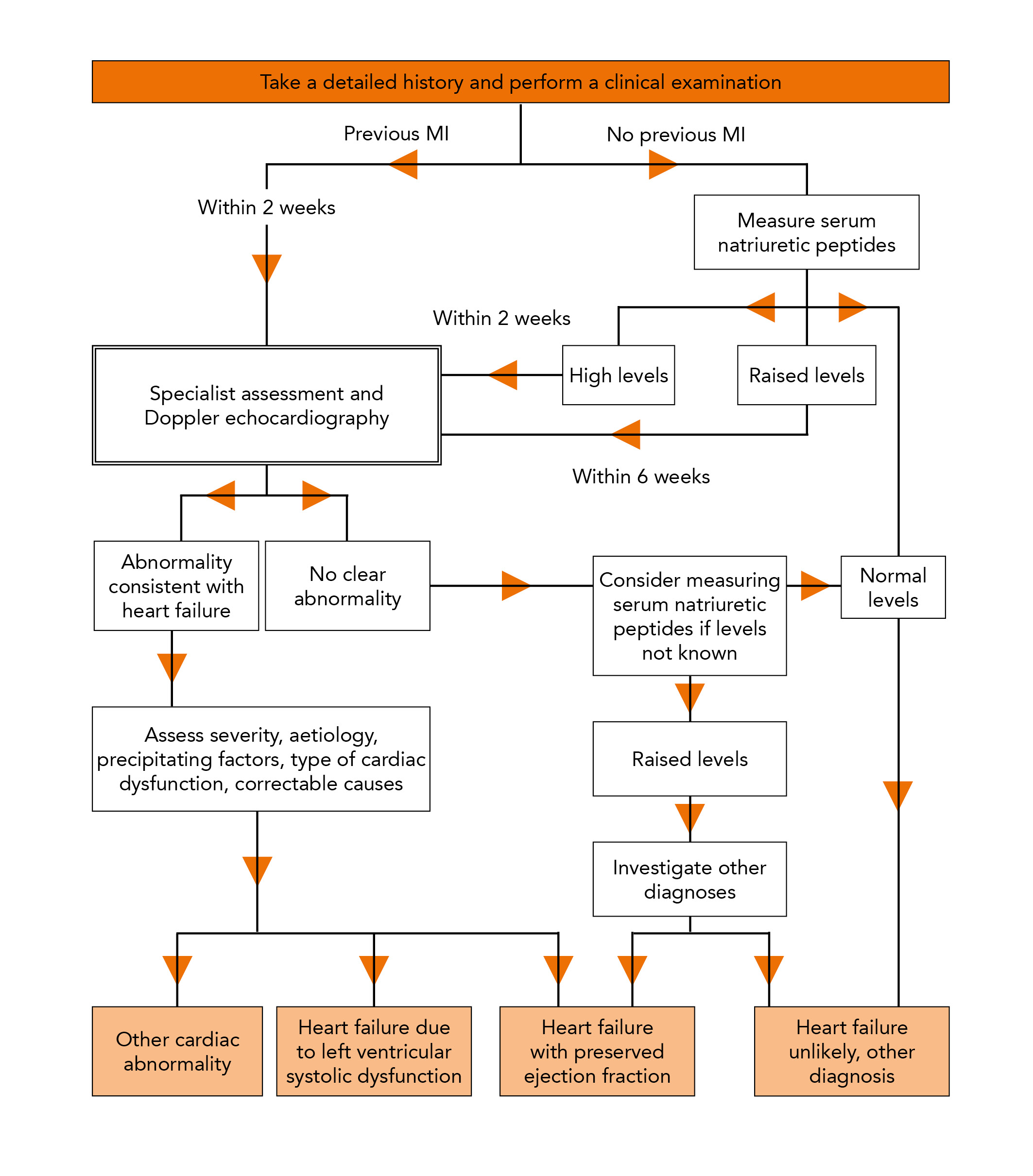 Figure 2: Algorithm for the treatment of symptomatic chronic heart failure
