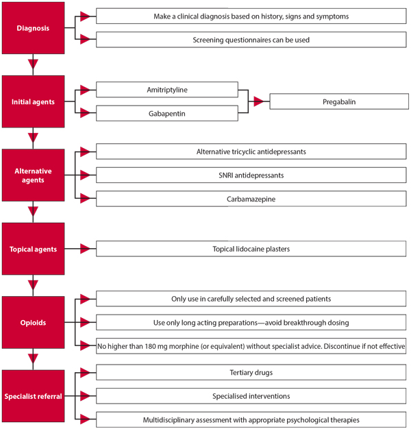 Pathway for patients with neuropathic pain